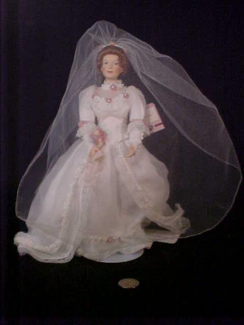 17: PORCELAIN BRIDE DOLL ASHTON DRAKE GALLERI