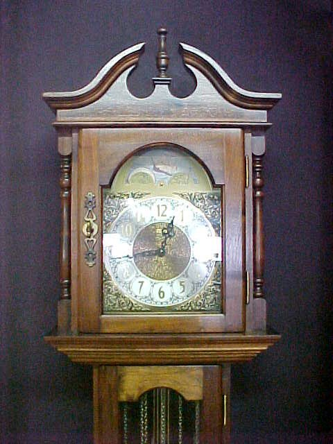 368: GRANDMOTHER CLOCK EMPEROR WESTERN GERMAN - 2