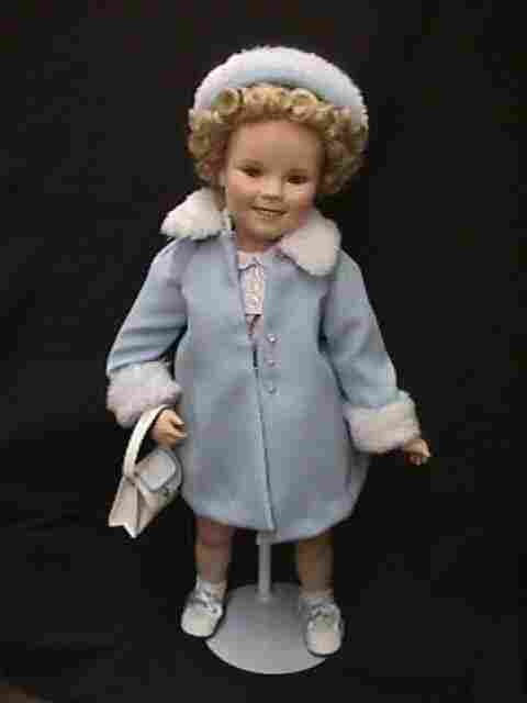 SHIRLEY TEMPLE SUNDAY BEST DOLL PORCELAI