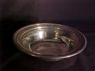 STERLING SILVER RETICULATED FRUIT BOWL