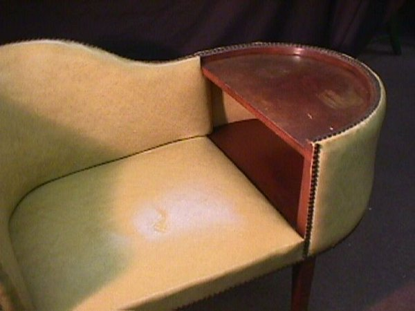 895: 50s TELEPHONE CHAIR / TABLE - 2