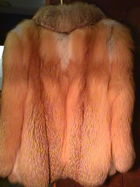 1094: RED FOX FUR JACKET JINDO FURS - 5