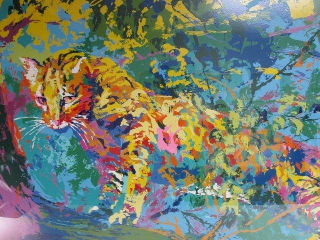 LEROY NIEMAN ARTIST PROOF SERIGRAPH: LEOPARD