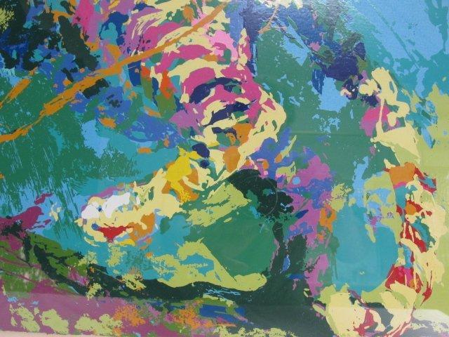 LEROY NIEMAN ARTIST PROOF SERIGRAPH: LEOPARD - 5