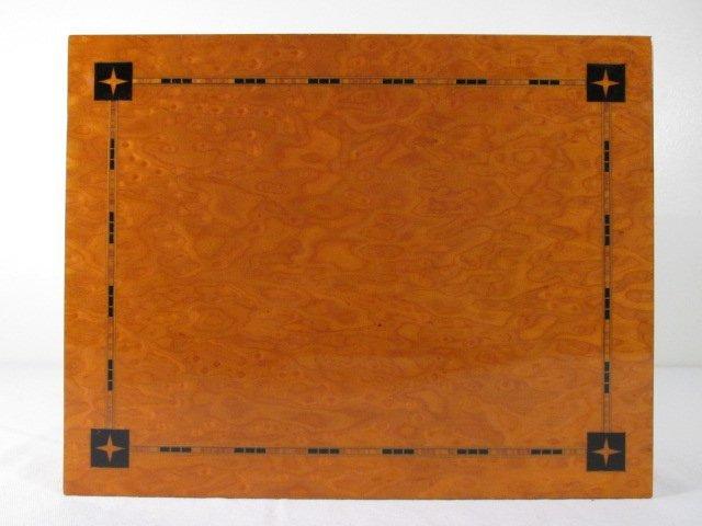 RITOS PARQUETRY INLAID MAPLE HUMIDOR - 5