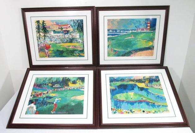 "LEROY NEIMAN ""BIG TIME GOLF"" SUITE - ARTIST PROOF 1"