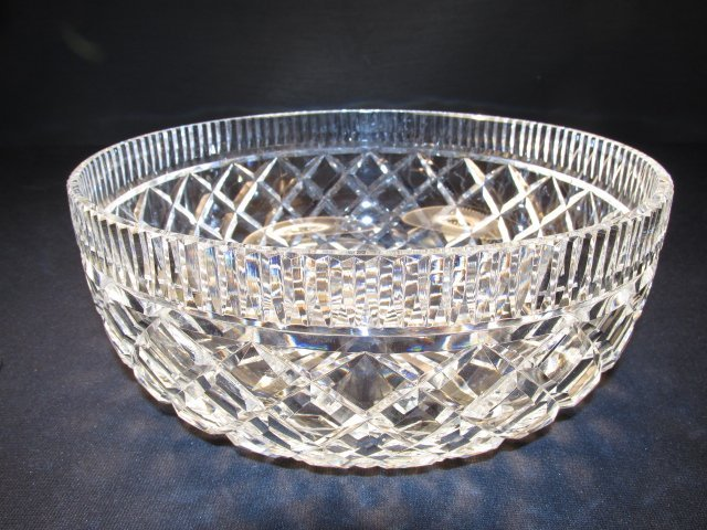 "WATERFORD ""KILLEEN"" IRISH CUT CRYSTAL BOWL"