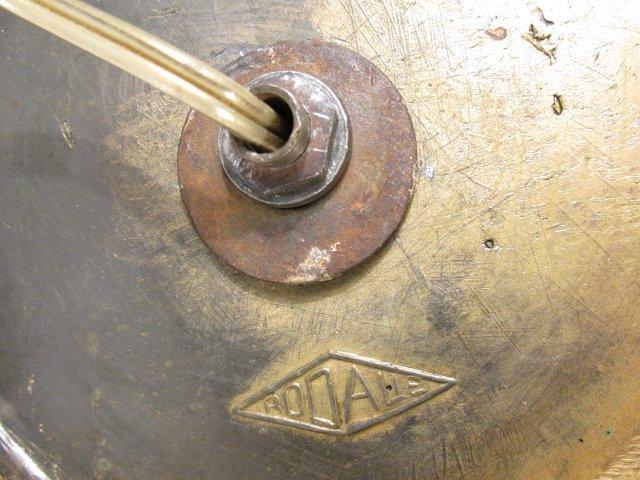 19TH C ITALIAN CERAMIC URN MOUNTED AS TABLE LAMP - 8