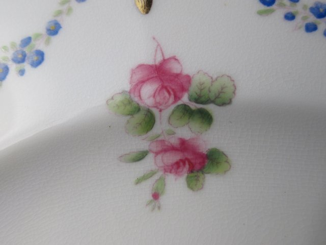 SIX MINTONS HAND PAINTED PLATES FOR TIFFANY & CO - 5