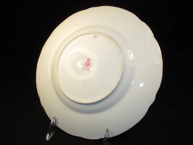 SIX MINTONS HAND PAINTED PLATES FOR TIFFANY & CO - 6