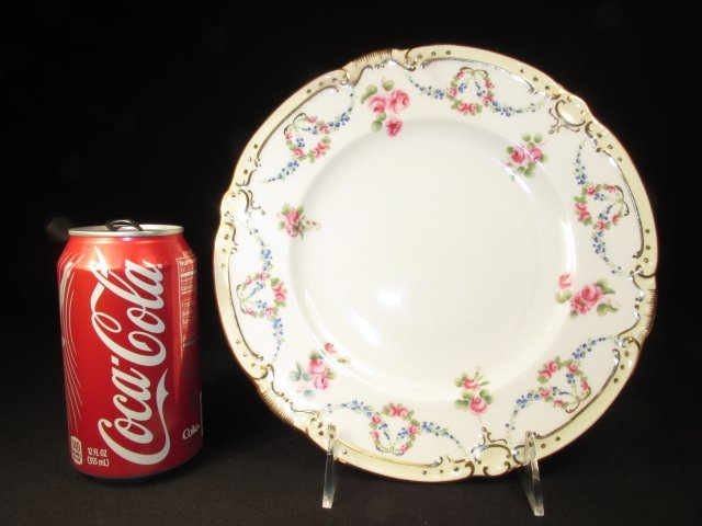 SIX MINTONS HAND PAINTED PLATES FOR TIFFANY & CO - 9