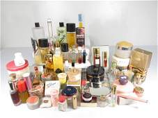 LARGE COLLECTION ASSORTED VINTAGE LADIES PERFUME ETC