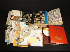 EXTENSIVE COLLECTION OF STAMPS