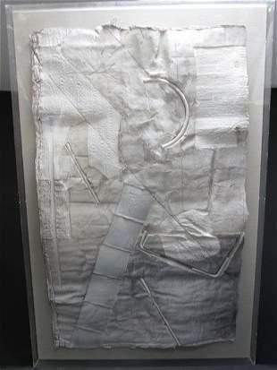 J. MEIMARIS MIXED MEDIA ABSTRACT WALL ART SCULPTURE