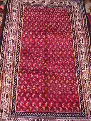 PERSIAN BOTEMIR HAND KNOTTED RUG