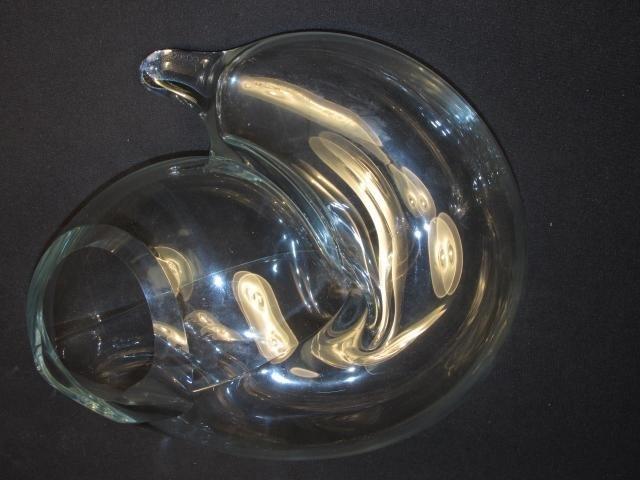 JOHN BINGHAM AMORPHIC GLASS SCULPTURE