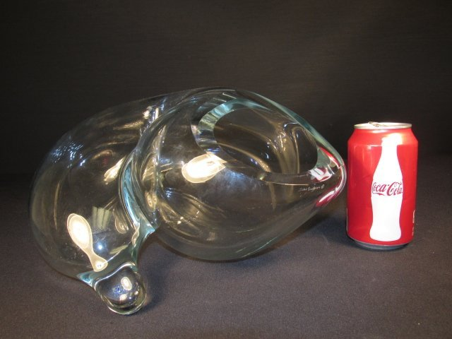 JOHN BINGHAM AMORPHIC GLASS SCULPTURE - 6