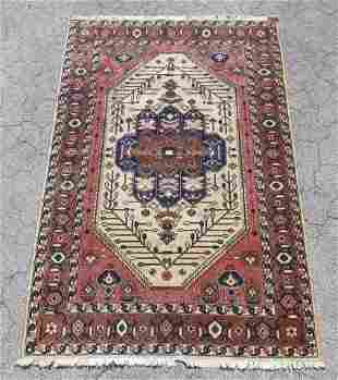 """PERSIAN HAND KNOTTED WOOL AREA RUG 9 X 5'10"""""""