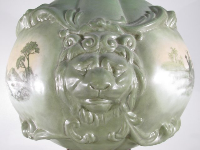 CONSOLIDATED LION HEAD BANQUET PARLOR LAMP SAFARI - 4