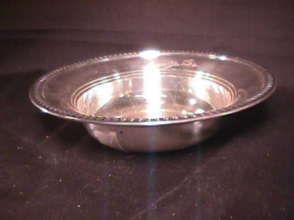 451: SMALL STERLING SILVER BOWL
