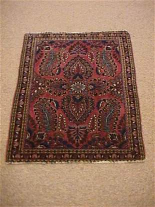 SMALL HAND KNOTTED PERSIAN CARPET