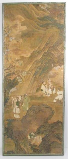 VERY FINE EARLY 19TH C CHINESE PAINTING ON SILK