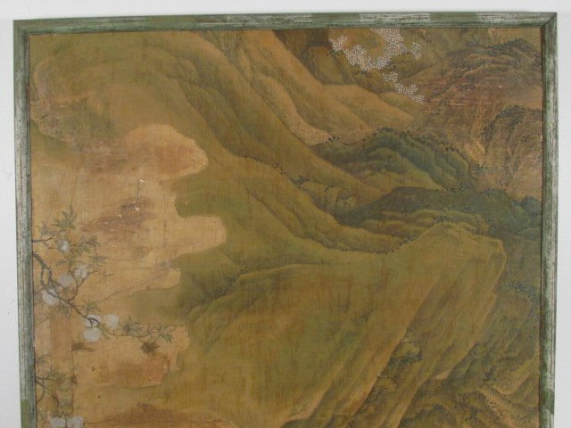 VERY FINE EARLY 19TH C CHINESE PAINTING ON SILK - 2