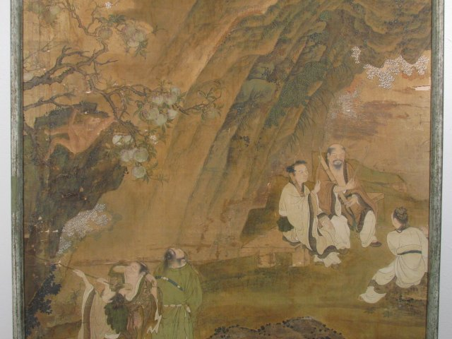 VERY FINE EARLY 19TH C CHINESE PAINTING ON SILK - 3