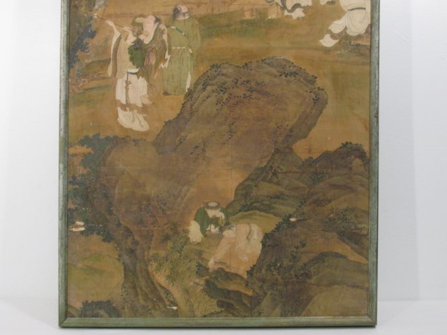 VERY FINE EARLY 19TH C CHINESE PAINTING ON SILK - 4