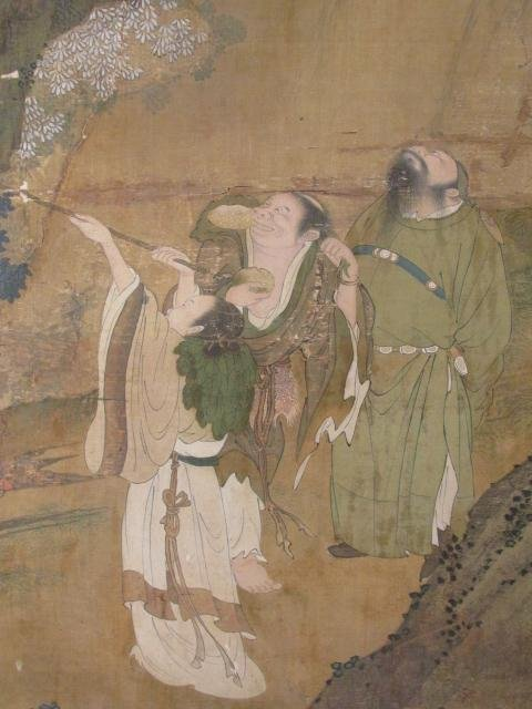 VERY FINE EARLY 19TH C CHINESE PAINTING ON SILK - 5