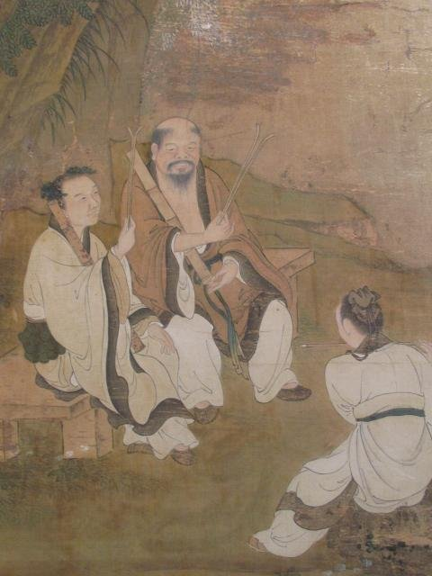VERY FINE EARLY 19TH C CHINESE PAINTING ON SILK - 6