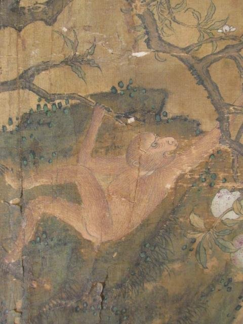 VERY FINE EARLY 19TH C CHINESE PAINTING ON SILK - 9