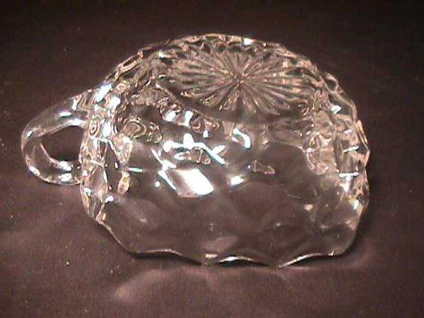 808: ANTIQUE FOSTORIA GLASS DISH MISC RING HOLDER - 4
