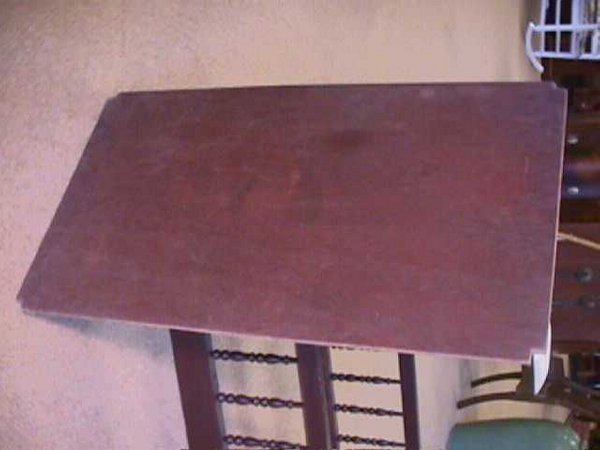 981: ANTIQUE AMERICAN SPINDLE BABY CRIB - 9