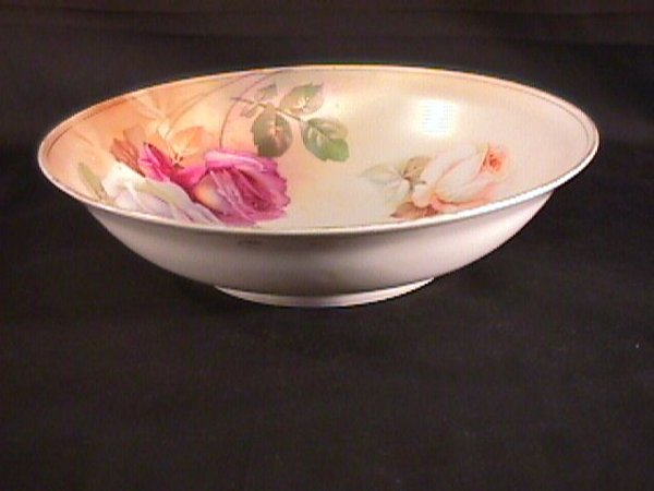 5: R S GERMANY FLORAL DECORATED BOWL