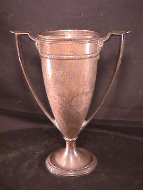 15: GORHAM STERLING SILVER ADVERTISING TROPHY CUP