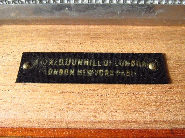 ALFRED DUNHILL BURLED WOOD HUMIDOR - 2