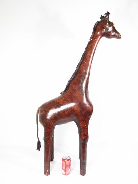 OMERSA FOR ABERCROMBIE & FITCH: LEATHER GIRAFFE - 3