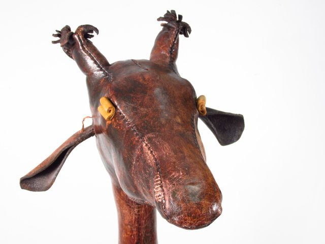 OMERSA FOR ABERCROMBIE & FITCH: LEATHER GIRAFFE - 4