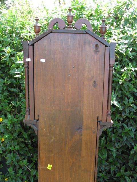 VINTAGE GRANDFATHER CLOCK BY IRA LESHER & SONS - 10