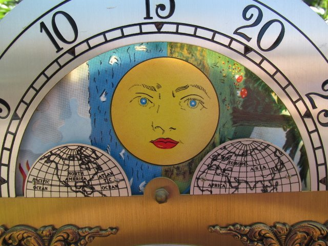 VINTAGE GRANDFATHER CLOCK BY IRA LESHER & SONS - 8