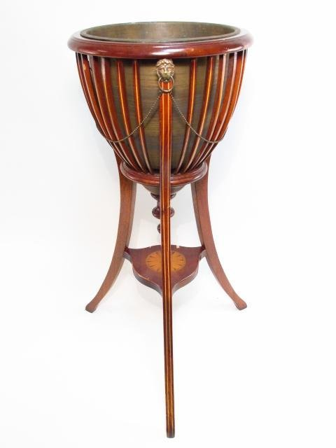 EARLY 20TH C TRANSITIONAL STYLE PLANT STAND