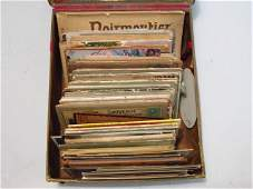 POSTCARD LOT IN VICTORIAN CHRISTMAS BOX
