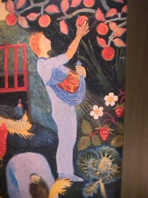 1175: PRINT OF PAINTING BY ANNA PUGH FRAMED - 2