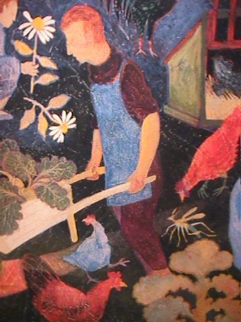 1175: PRINT OF PAINTING BY ANNA PUGH FRAMED - 3