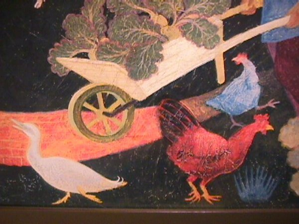 1175: PRINT OF PAINTING BY ANNA PUGH FRAMED - 5