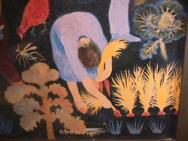 1175: PRINT OF PAINTING BY ANNA PUGH FRAMED - 6