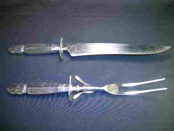 WHITING PRINCESS INGRID STERLING SILVER DECO STYLE