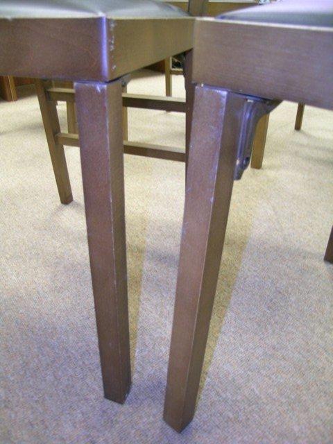 488: 1950'S RETRO LEG O MATIC FOLDING CHAIRS 8 PCS - 4