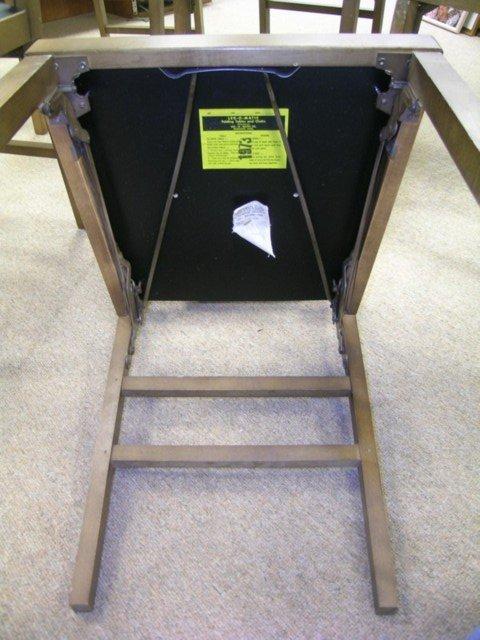 488: 1950'S RETRO LEG O MATIC FOLDING CHAIRS 8 PCS - 6